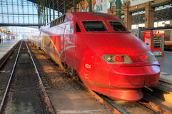 Thalys front Royalty Free Stock Images