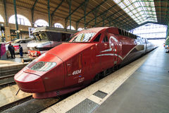 Thalys train Royalty Free Stock Photography