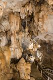 Tham Chang jama, Vang Vieng Fotografia Royalty Free