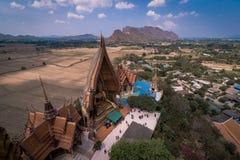 Tham för wat för ` för den Thailand famousetemplet stämmer `, Arkivbild