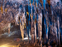 Tham Khao Bin cave Royalty Free Stock Photo
