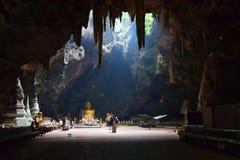 Tham Khao Luang Cavedans Phetchaburi Thaïlande Images libres de droits