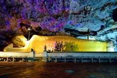 Tham Khao Luang Cavei Phetchaburi Thailand arkivbilder
