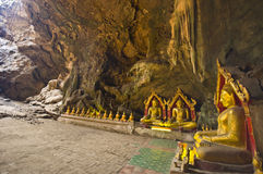 Tham-Khao-Luang cave Stock Photo