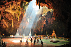 Tham Khao Luang cave , Thailand Royalty Free Stock Photography