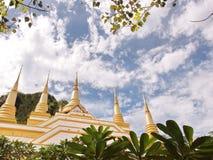 Tham Khao Prang temple. Chai Badan District Lopburi Province, Thailand Stock Photography
