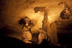 Tham Kong Lo cave Royalty Free Stock Image