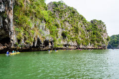 Tham Lod cave Phang Nga bay Royalty Free Stock Image