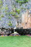 Tham Lod cave Phang Nga bay Royalty Free Stock Photography