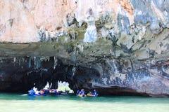 Tham Lod, Phang Nga, Таиланд Стоковые Фотографии RF