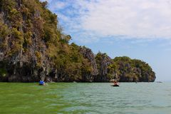 Tham Lod, Phang nga, Thailand Royalty Free Stock Photo