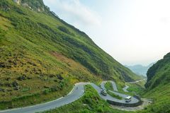 Free Tham Ma Is One Of The Most Beautiful Pass In Ha Giang Mountainous Province Stock Image - 159991661
