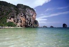 Tham Phra Nang Schacht, Thailand Stockfotografie