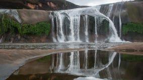 Tham Phra Waterfall Royalty Free Stock Photo