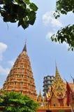 Tham Sua Tempel, Kanchanaburi Lizenzfreies Stockbild