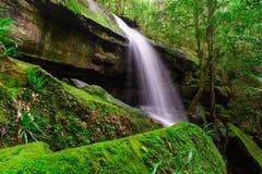 Tham Yai Waterfall. Tham Yai Waterfall at Phu Kradueng national park, Loei Thailand Stock Photo