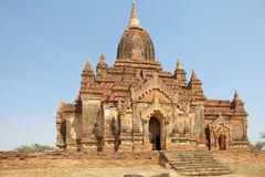 Thambula-Tempel, Bagan, Myanmar Lizenzfreie Stockfotos