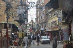 Thamel Kathmandu Fotografie Stock