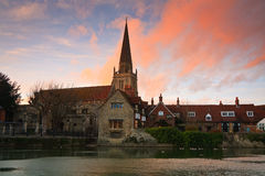 Thames In Abingdon near Oxford, UK Stock Image