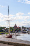 maldon essex uk Thames Barge Royalty Free Stock Images