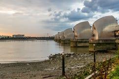 Thames bariera Obrazy Royalty Free
