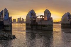 Thames bariera Fotografia Stock