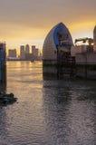 Thames bariera Obraz Royalty Free