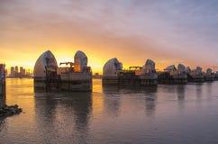 Thames bariera Zdjęcia Royalty Free