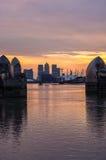 Thames bariera Obraz Stock
