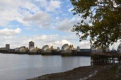 Thames bariery Obraz Stock