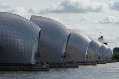 Thames Barrier. The Thames Barrier in London, England Stock Photography