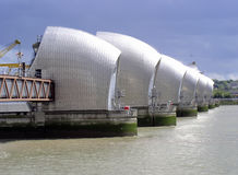 Thames Barrier stock image