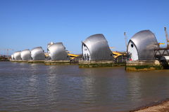 The Thames Barrier Royalty Free Stock Photos
