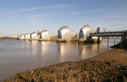 The thames barrier Royalty Free Stock Image