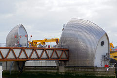 Thames Barrier Royalty Free Stock Images