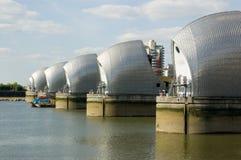 Thames Barrier, Greenwich, London Stock Photos