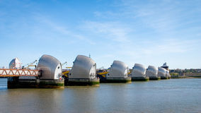 Thames Barrier, London Stock Photography