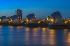 Thames Barrier, London, UK Royalty Free Stock Images