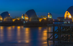 Thames Barrier, London, UK Royalty Free Stock Photography