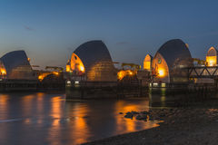 Thames Barrier, London, UK Royalty Free Stock Photo