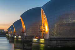 Thames Barrier, London, UK Stock Image