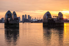 Thames barrier Royalty Free Stock Photos