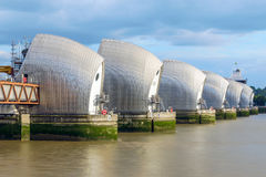 Thames Barrier in London, UK Royalty Free Stock Photography