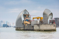 Thames Barrier London Royalty Free Stock Image