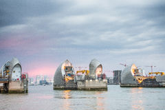 Thames Barrier London Royalty Free Stock Photography