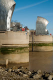 Thames Barrier water defense Royalty Free Stock Photos