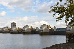 Thames barriers Stock Image