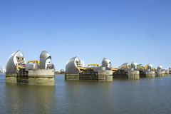 Thames Barries Royalty Free Stock Photography