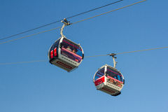 Thames Cable Car Emirates Air Line Stock Image