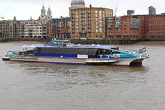 Thames Clipper Royalty Free Stock Photo